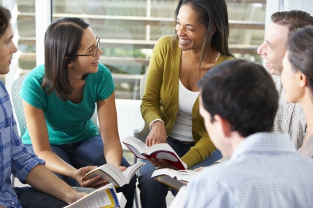 study: Bible Group Reading Together