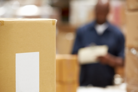 dispatch: Package Ready For Dispatch In Warehouse
