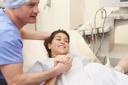 treatment: Husband Supporting Wife Through IVF Treatment