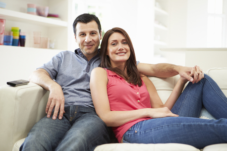 Pregnant Woman And Partner Having 4D Ultrasound Scan Reklamní fotografie