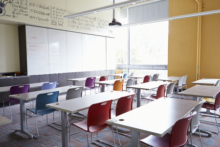 Empty School Classroom photo