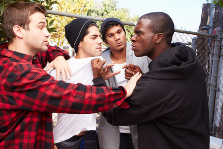 Fight Breaking Out Amongst Gang Members