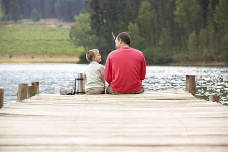 jezior: Rybackich Ojciec i syn