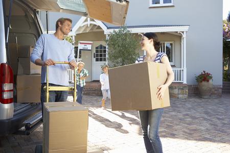 移動の家族の家