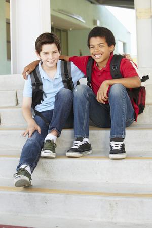 pre teen boys: Pre teen boys at school