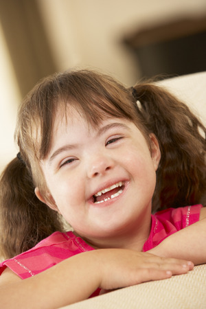 6 year old girl with Downs Syndrome