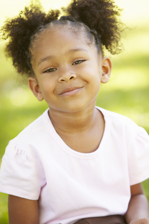 Young  girl portrait outdoors