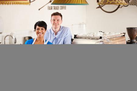 negocios comida: Trabajadores Cafe