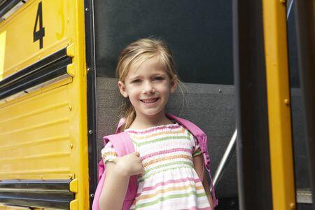 niño escuela: Escuela Primaria Alumno Junta autobús