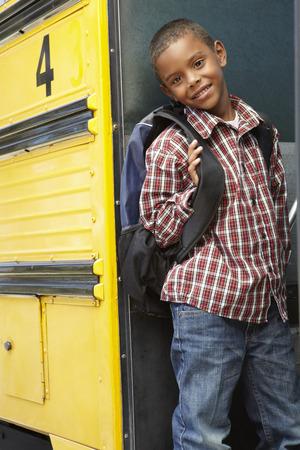 pupil: Elementary School Pupil Board Bus