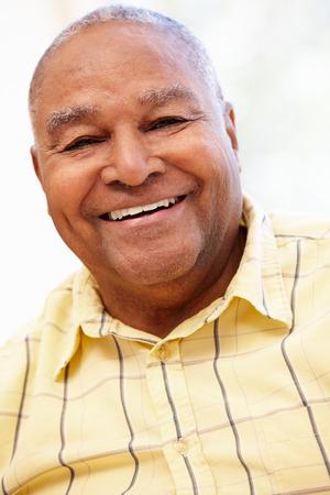 senior african: Senior African American man Stock Photo