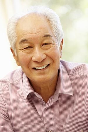 上級アジア男自宅