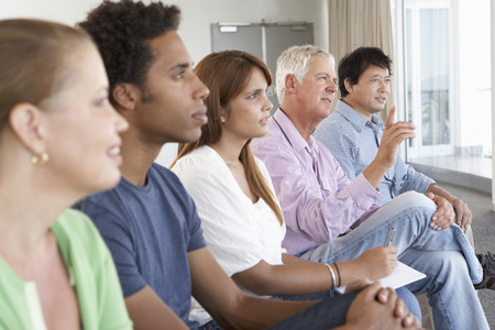 Meeting Of Support Group Stock Photo - 42163732