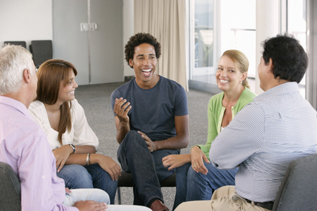 terapia de grupo: Reunión del Grupo de Apoyo