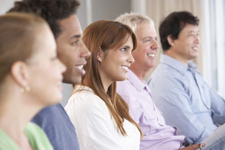 Meeting Of Support Group Stock Photo - 42163818