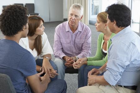 gruppe m�nner: Treffen der Selbsthilfegruppe