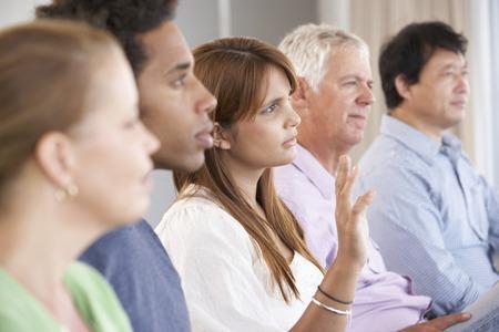 apoyo social: Reunión del Grupo de Apoyo