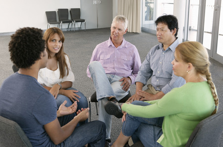 therapy group: Meeting Of Support Group