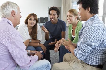 groups of people: Reunión del Grupo de Apoyo