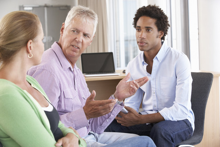 counselling: Middle Aged Couple Having Counselling Session