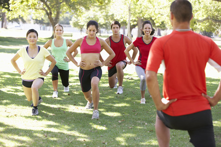 boot camp: Instructor Running Fitness Boot Camp
