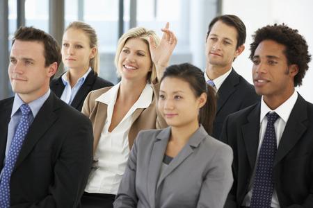 プレゼンテーション中に実業家を求める質問