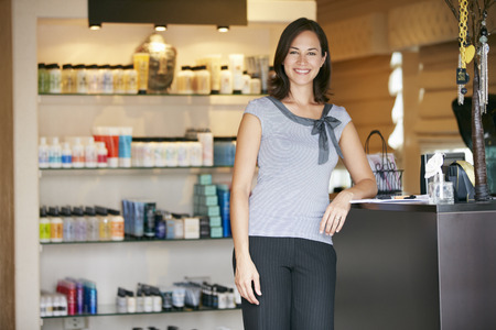 business owner: Portrait Beauty Product Shop Manager