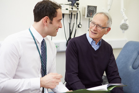 patient notes: Consultant Discussing Test Results With Patient