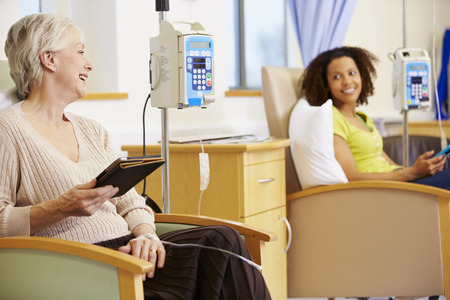Female Patients Undergoing Chemotherapy Treatment