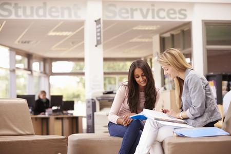 Femme de travail étudiant Avec Mentor Banque d'images - 42309376
