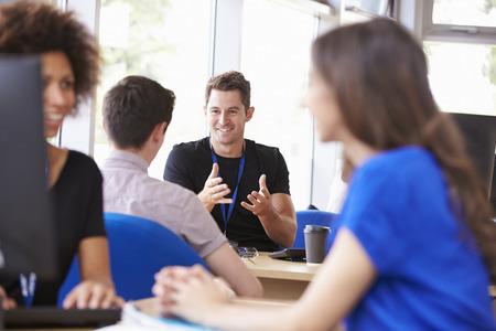 Student Services Department Of University Providing Advice