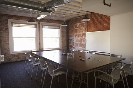 Boardroom Of Modern Office With No People