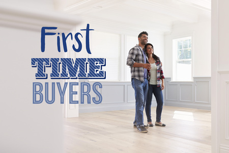 First Time Buyers Couple In Their New Home Reklamní fotografie - 78079722