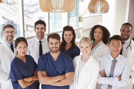 Portrait Of Medical Team In Hospital