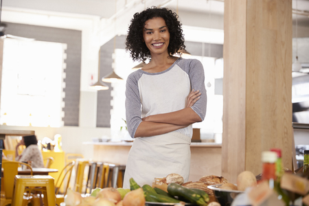 Portrait Of Female Owner Of Organic Food Store