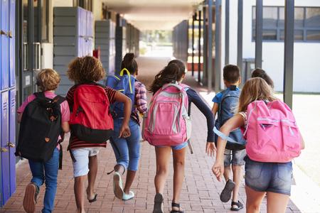초등학교 복도에서 실행중인 학교 애들, 다시보기