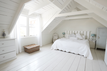 Interior View Of Beautiful Light And Airy Childs Bedroom
