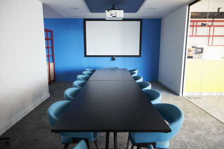 Empty meeting room in an office