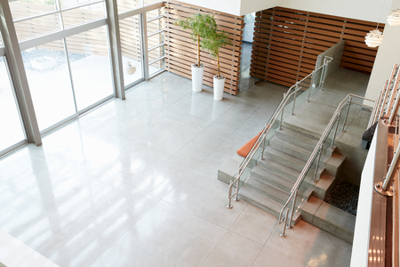 Lobby and stairs in a modern office building Reklamní fotografie