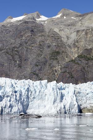 Detail Of Glacier In Glacier Bay Alaska USA Stock Photo