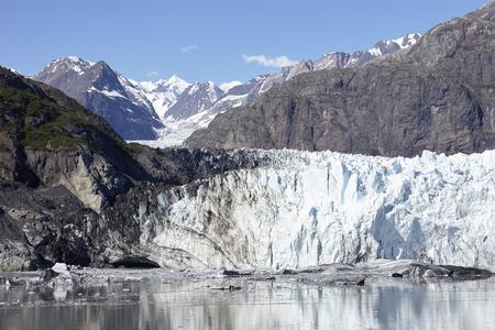 Detail Of Glacier In Glacier Bay Alaska USA Imagens