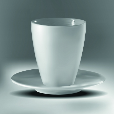 Empty cup Illustration
