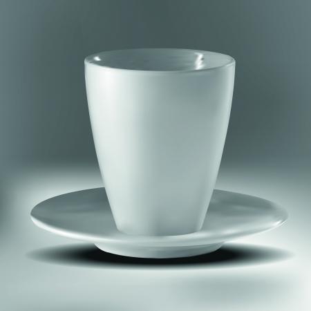 Empty cup Illustration