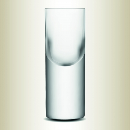 Vodka glass,isolated