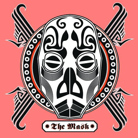 The Mask - artwork for t-shirt