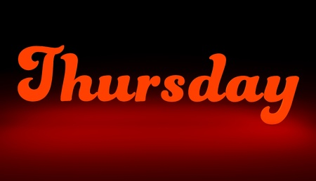 Thursday to night,Day of the week