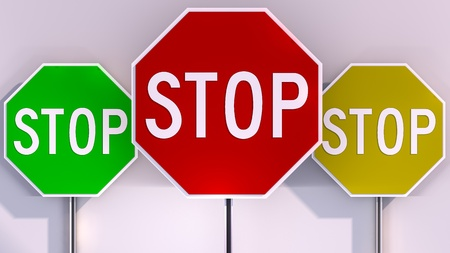 Stop sign ,traffic stop sign