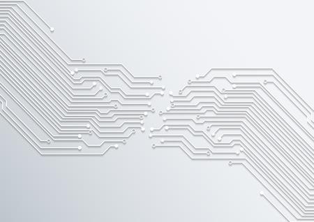 Tecnología resumen de la placa de circuito de fondo textura vector Foto de archivo - 40530841