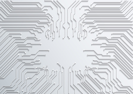 abstract technology background  circuit board texture vector