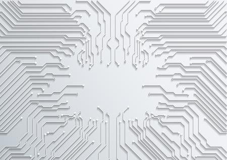 Tecnología resumen de la placa de circuito de fondo textura vector Foto de archivo - 40530847
